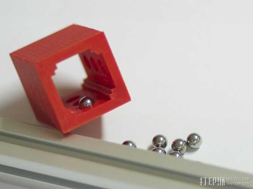 球轴套 3D模型  图7
