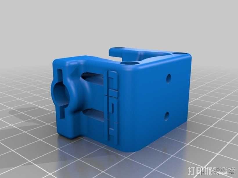 3D鲍登挤出机  3D模型  图4
