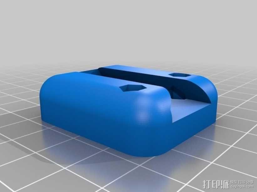 3D鲍登挤出机  3D模型  图3