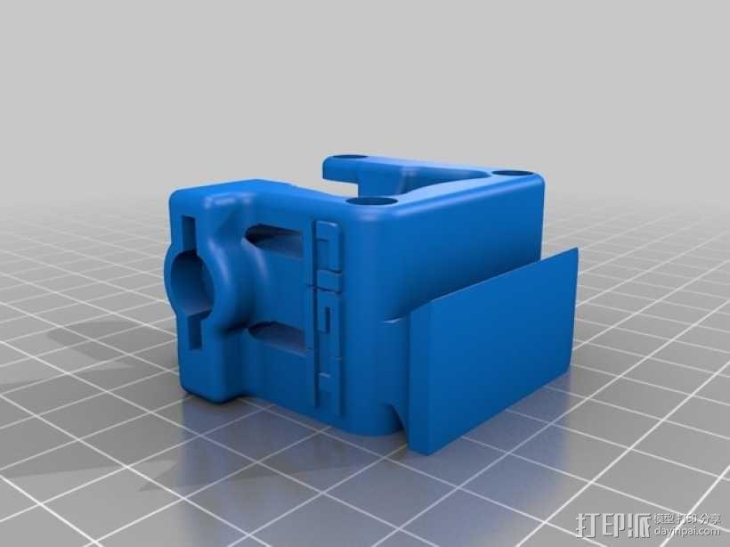3D鲍登挤出机  3D模型  图6