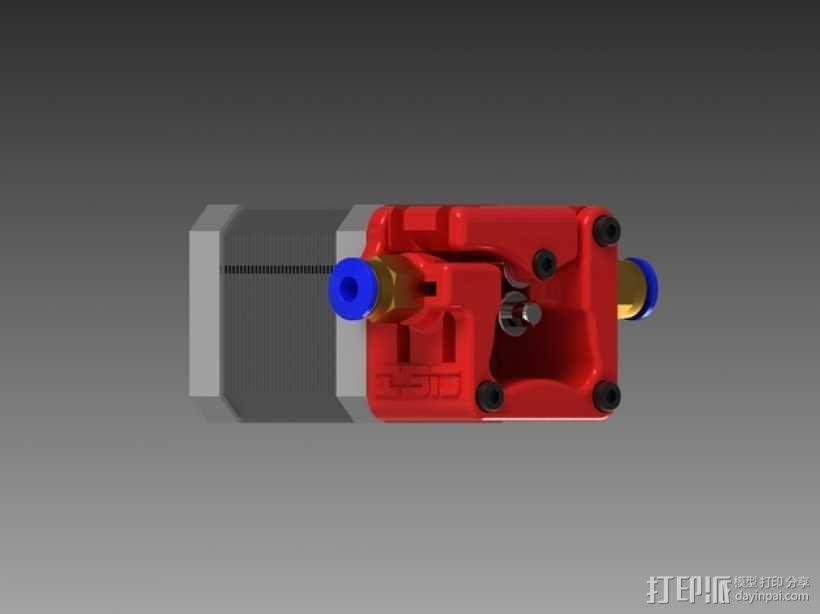 3D鲍登挤出机  3D模型  图9
