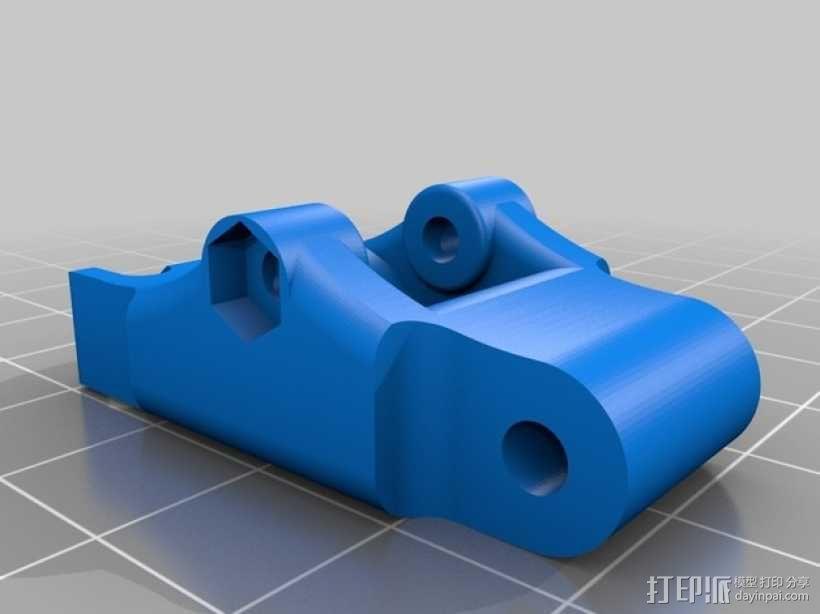 3D鲍登挤出机  3D模型  图7