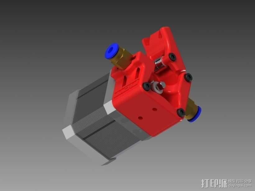 3D鲍登挤出机  3D模型  图10