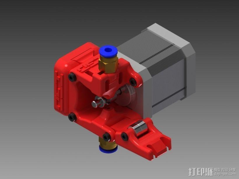 3D鲍登挤出机  3D模型  图13