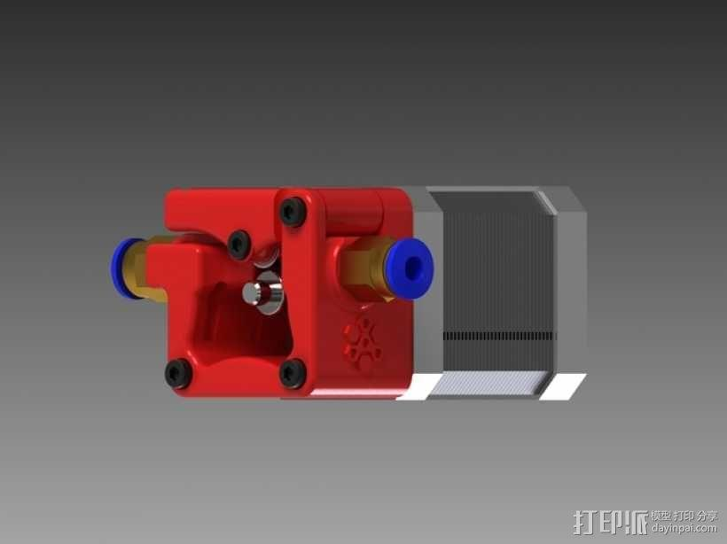 3D鲍登挤出机  3D模型  图11