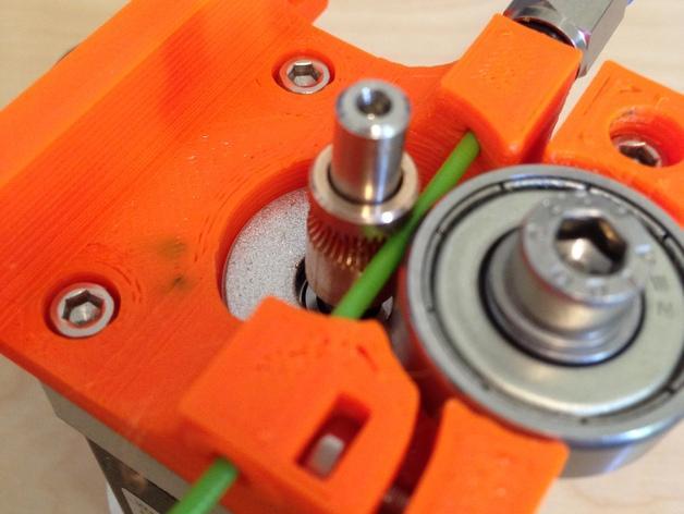 1.75毫米线材的鲍登挤出机 3D模型  图2