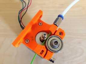 1.75毫米线材的鲍登挤出机 3D模型