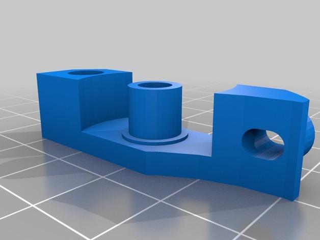 1.75毫米线材的鲍登挤出机 3D模型  图6