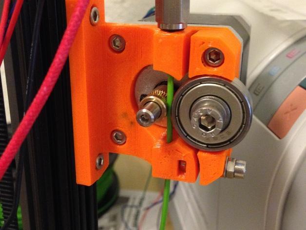 1.75毫米线材的鲍登挤出机 3D模型  图3