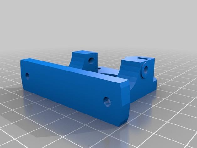 1.75毫米线材的鲍登挤出机 3D模型  图5