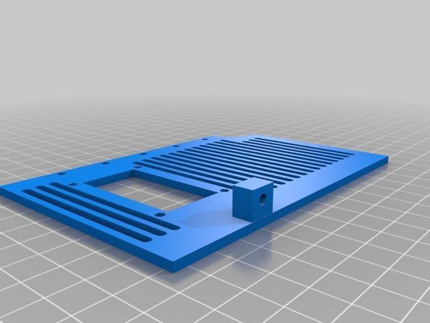 LyMan线材挤出机 3D模型  图15