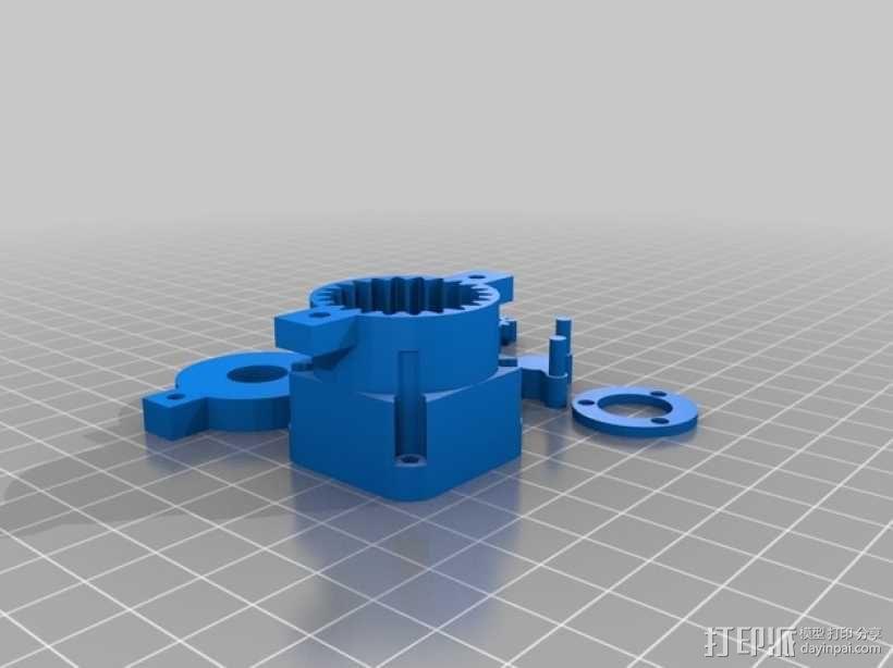 参数化行星齿轮箱 3D模型  图2