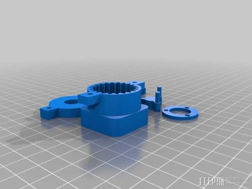 参数化行星齿轮箱 3D模型  图4