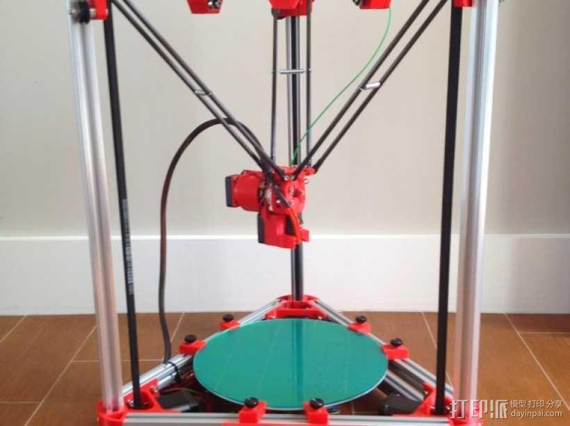 Kossel 3D打印机 3D模型  图1