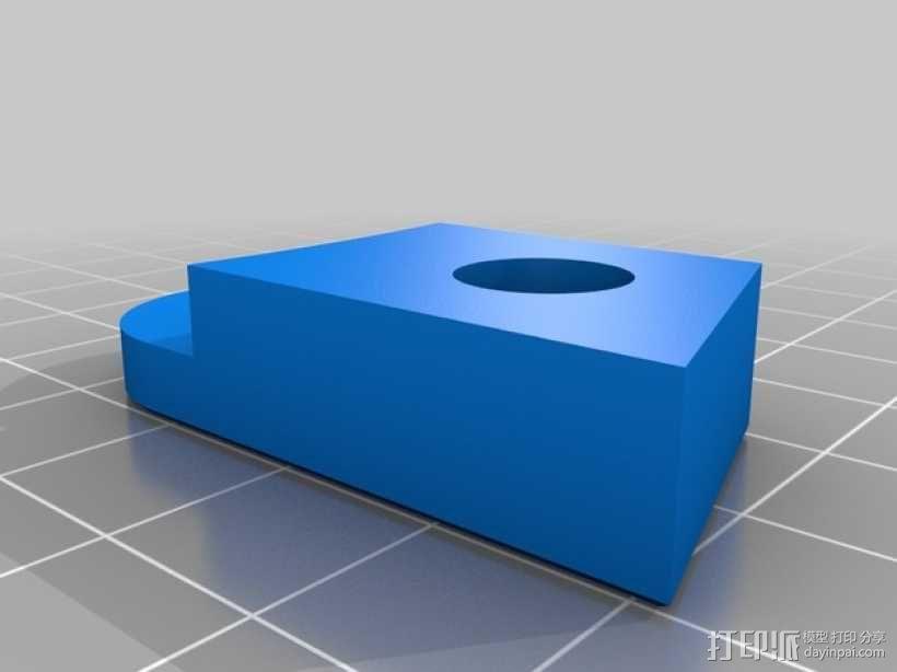 Kossel 3D打印机 3D模型  图4