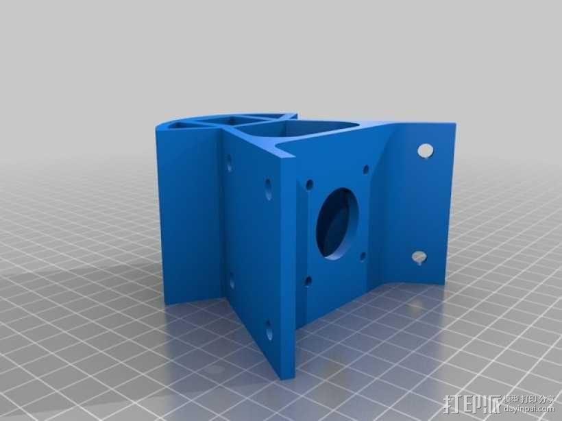 Kossel 3D打印机 3D模型  图13