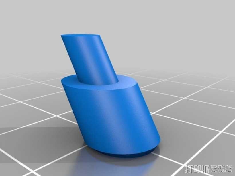 Kossel 3D打印机 3D模型  图15