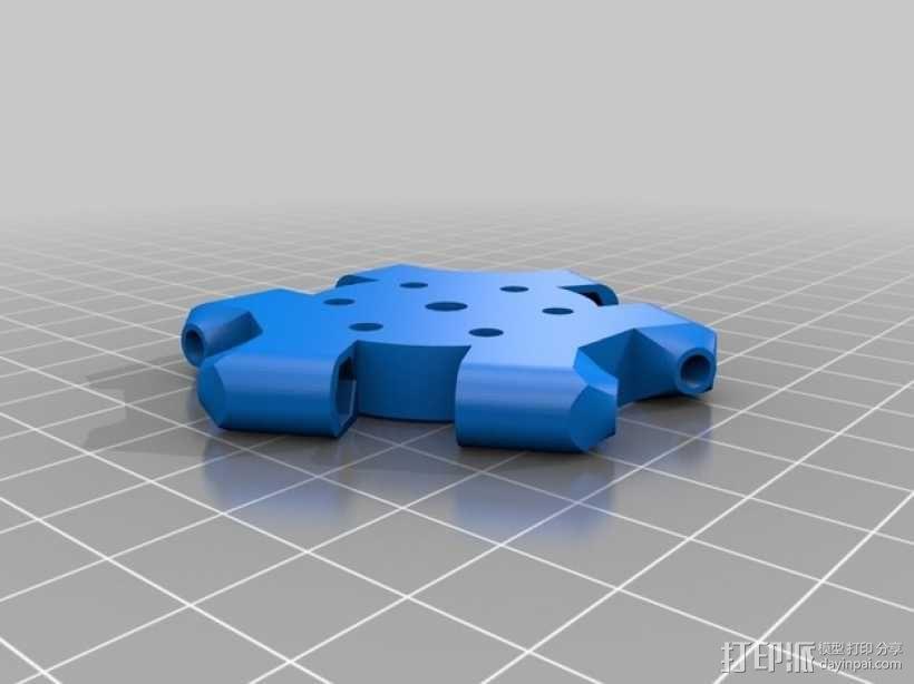 Kossel 3D打印机 3D模型  图16