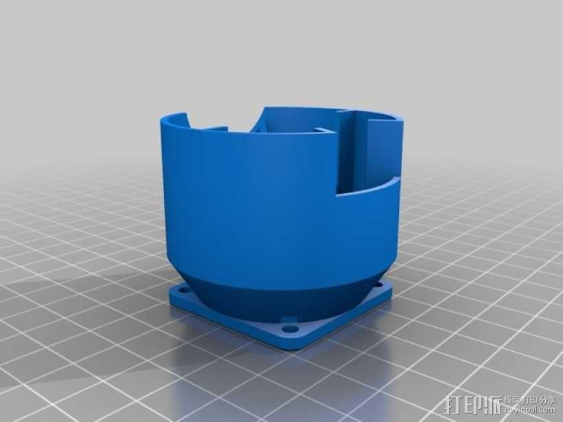 Kossel 3D打印机 3D模型  图21