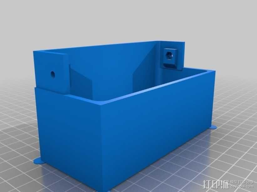 Kossel 3D打印机 3D模型  图23
