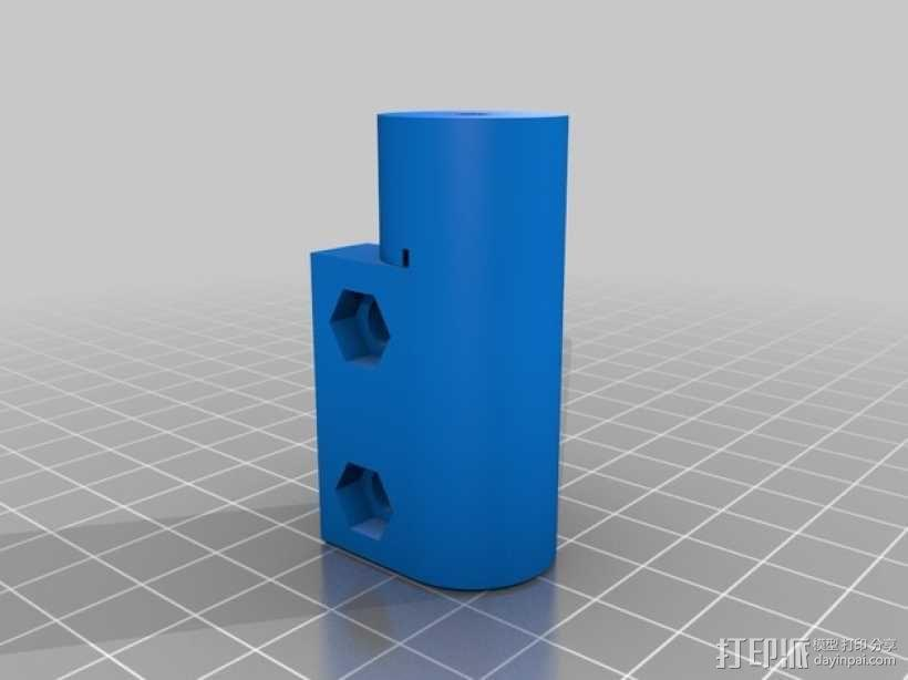 Kossel 3D打印机 3D模型  图22
