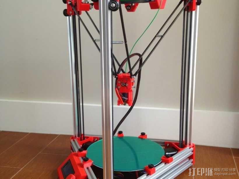 Kossel 3D打印机 3D模型  图31