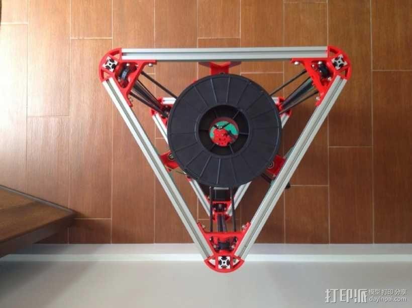 Kossel 3D打印机 3D模型  图29