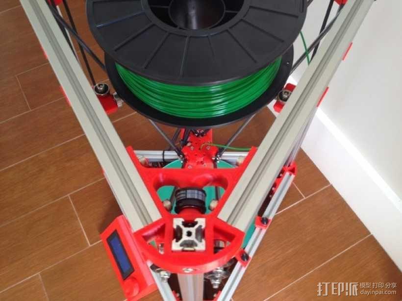 Kossel 3D打印机 3D模型  图28