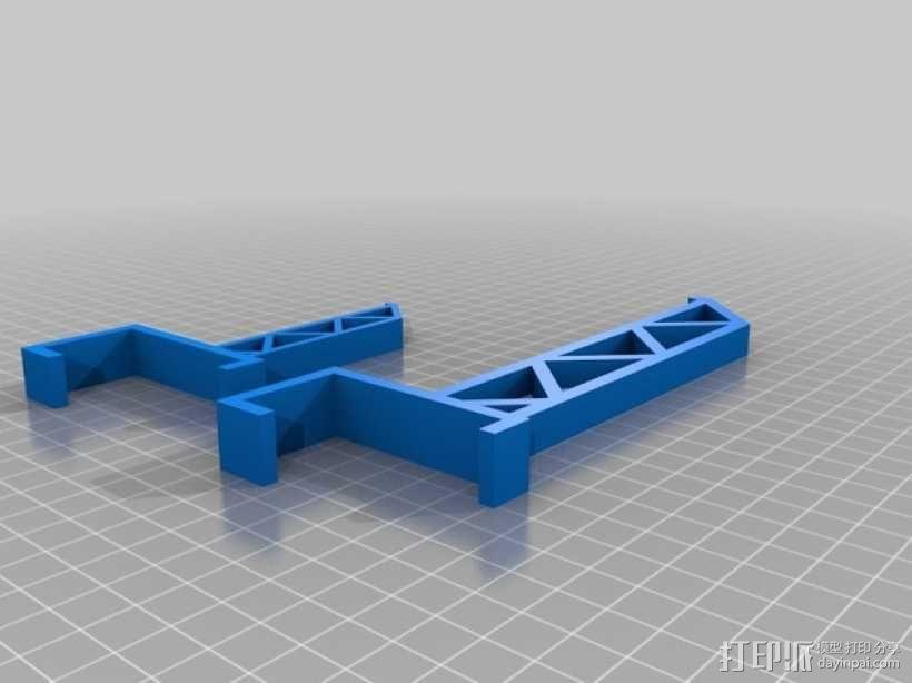 三纬国际Da Vinci 1.0 3D打印机线轴 3D模型  图2