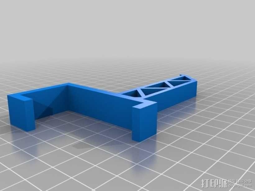 三纬国际Da Vinci 1.0 3D打印机线轴 3D模型  图4
