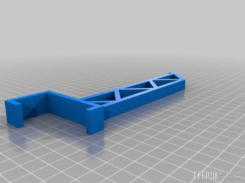 三纬国际Da Vinci 1.0 3D打印机线轴 3D模型  图3