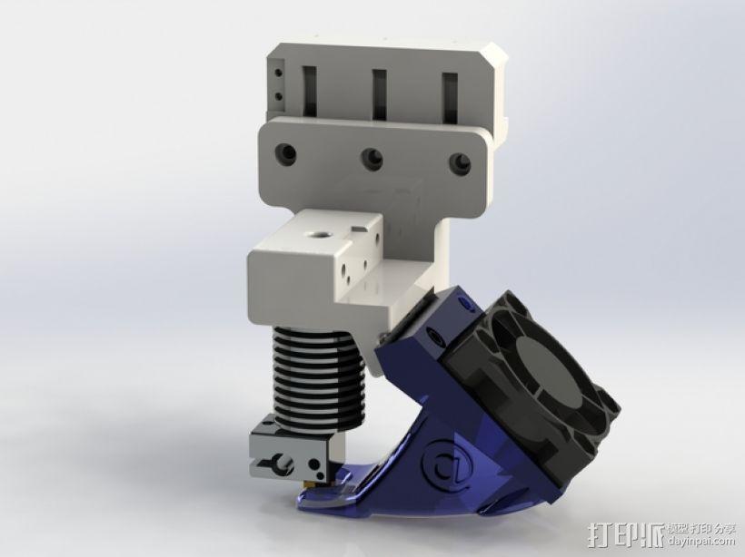 挤压机风扇 3D模型  图1