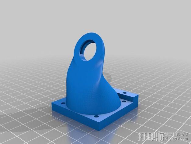 挤压机风扇 3D模型  图4