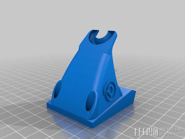 挤压机风扇 3D模型  图2