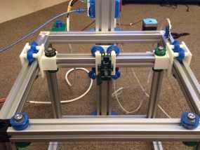 改良版Core-T 3D打印机 3D模型