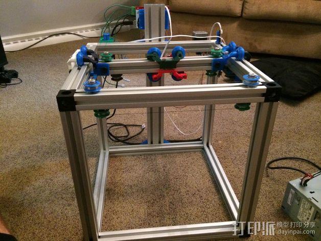 改良版Core-T 3D打印机 3D模型  图4