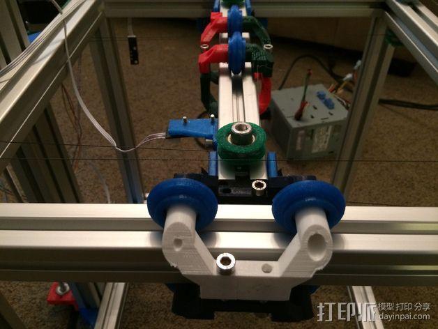 改良版Core-T 3D打印机 3D模型  图5