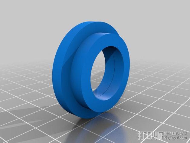 改良版Core-T 3D打印机 3D模型  图13