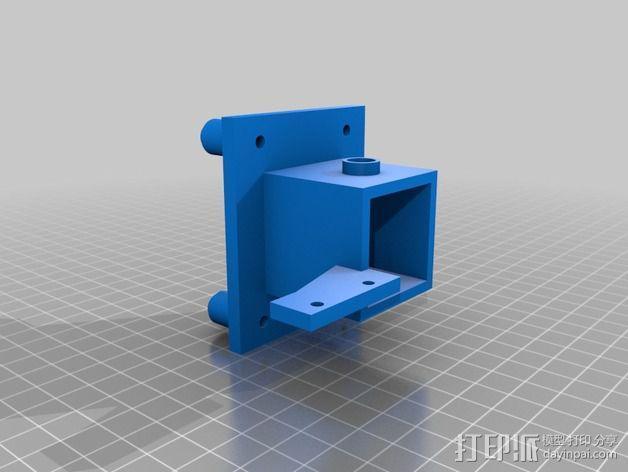改良版Core-T 3D打印机 3D模型  图14