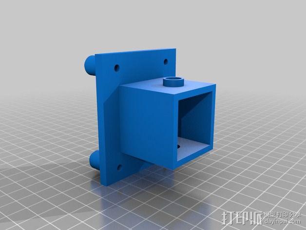 改良版Core-T 3D打印机 3D模型  图15
