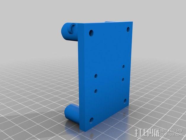改良版Core-T 3D打印机 3D模型  图17