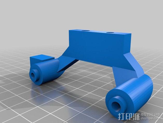改良版Core-T 3D打印机 3D模型  图20