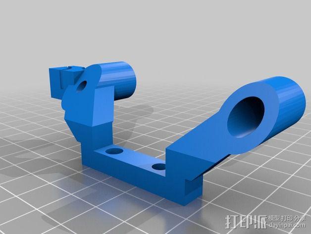 改良版Core-T 3D打印机 3D模型  图21