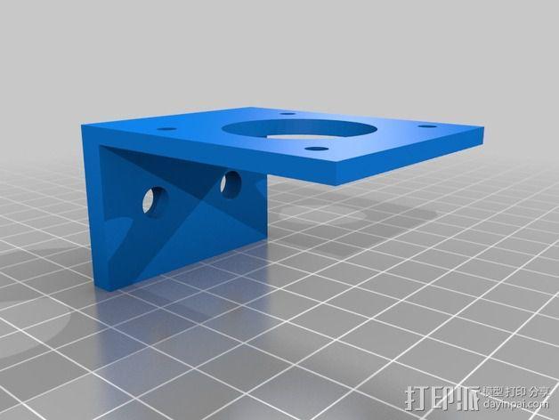 改良版Core-T 3D打印机 3D模型  图22