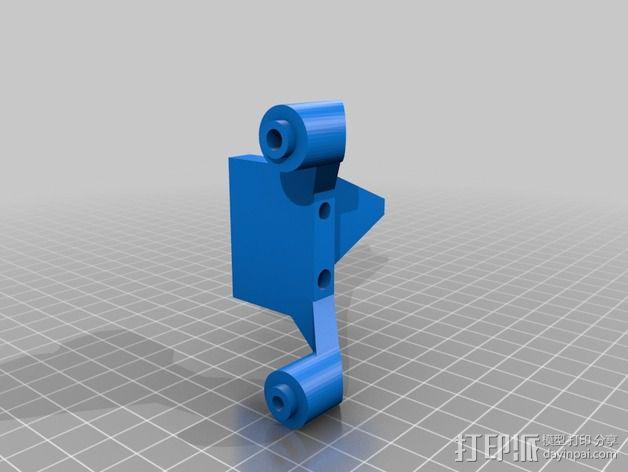 改良版Core-T 3D打印机 3D模型  图29