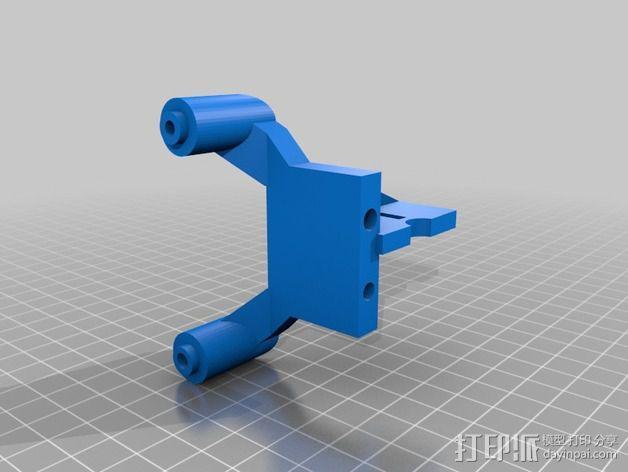 改良版Core-T 3D打印机 3D模型  图30