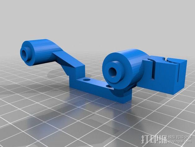 改良版Core-T 3D打印机 3D模型  图33