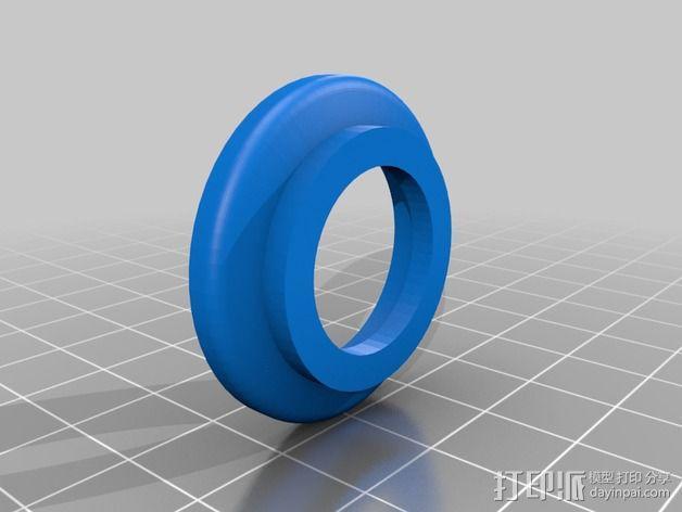 改良版Core-T 3D打印机 3D模型  图35