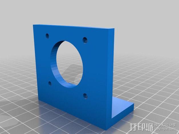 改良版Core-T 3D打印机 3D模型  图37