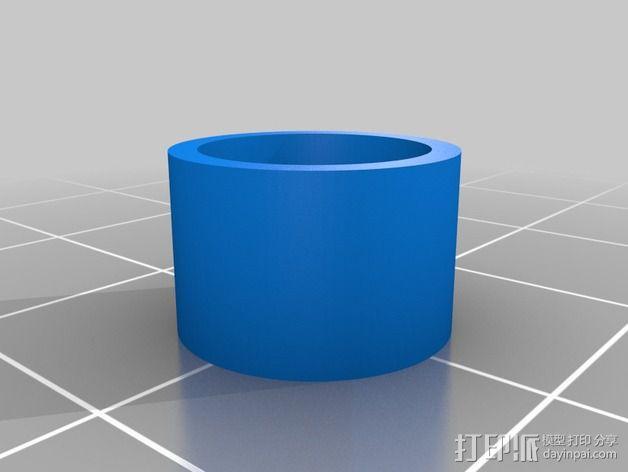 改良版Core-T 3D打印机 3D模型  图38